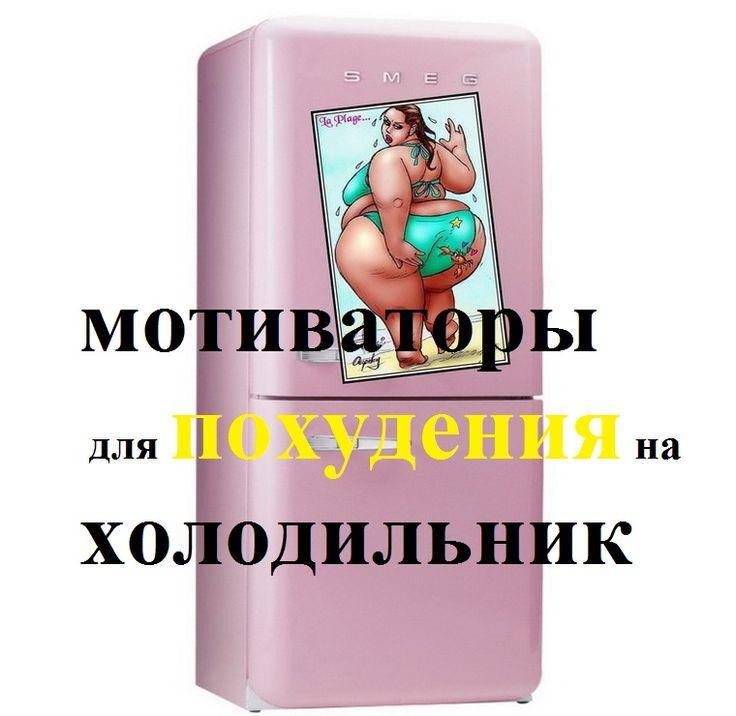 Прикол На Холодильнике Для Похудения. Худеем — цель!