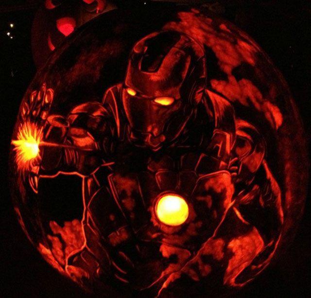 Superhero/Sci-Fi Pumpkins