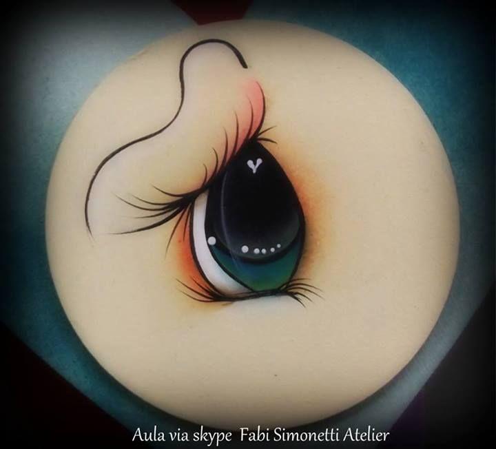 Como pintar ojo
