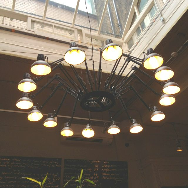 Anglepoise Chandelier Notes Cafe London