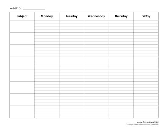 The 25+ best Class schedule template ideas on Pinterest Weekly - gradebook template