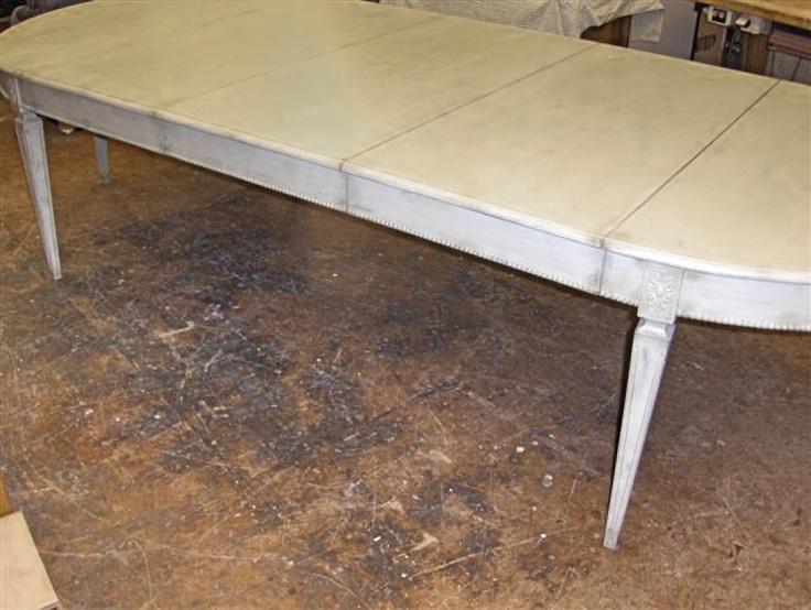 rare 1820s swedish gustavian dining table from swedish interior design