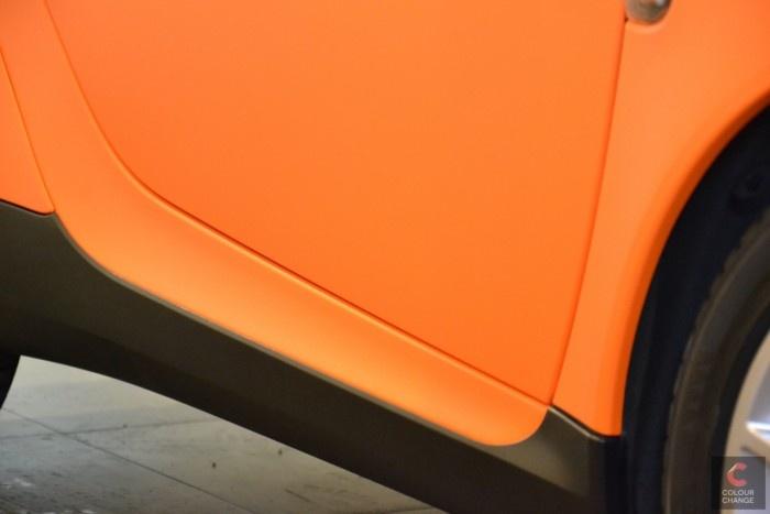 Smart - orange matt