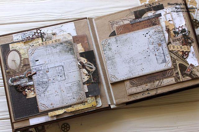 Мастер-классы по открыткам, альбомам и страничкам. Все о скрапбукинге и не только