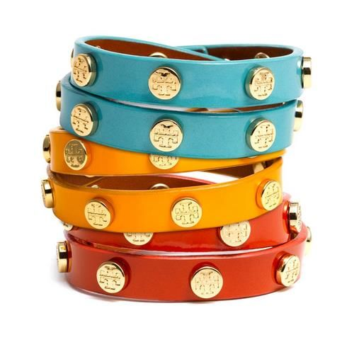 Tory Burch double-wrap bracelets