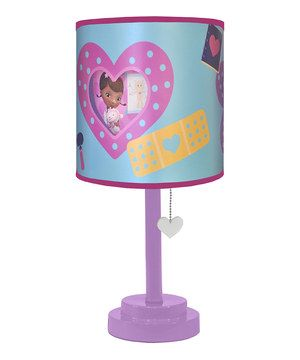 This lamp is just what the doctor ordered! Designed with everyone's favorite physician for toys, just one tug brightens up a room! Not to mention it makes for playful décor.