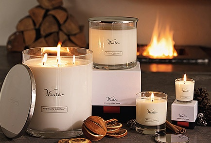 Candles and Fragrance - Scented Candles & Creams | The White Company