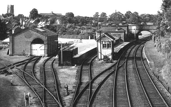 Disused Stations: Lavenham Station