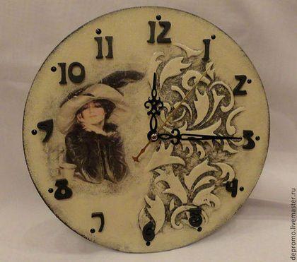 Часы для дома ручной работы. Ярмарка Мастеров - ручная работа Часы РЕТРО. Handmade.