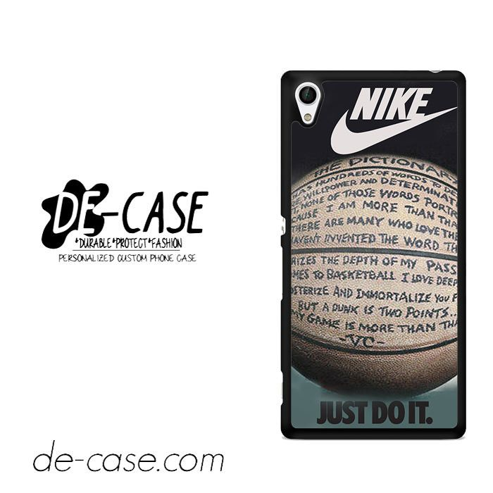 Nike Basketball Quote For Sony Xperia Z4 Case Phone Case Gift Present YO