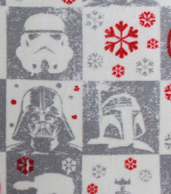 Star Wars Fleece Christmas Print Fabric Stormtroopers ...