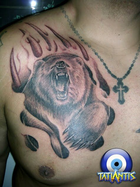 Tribal Bear Tattoos for Men | Tribal Bear TattooAnimal ...