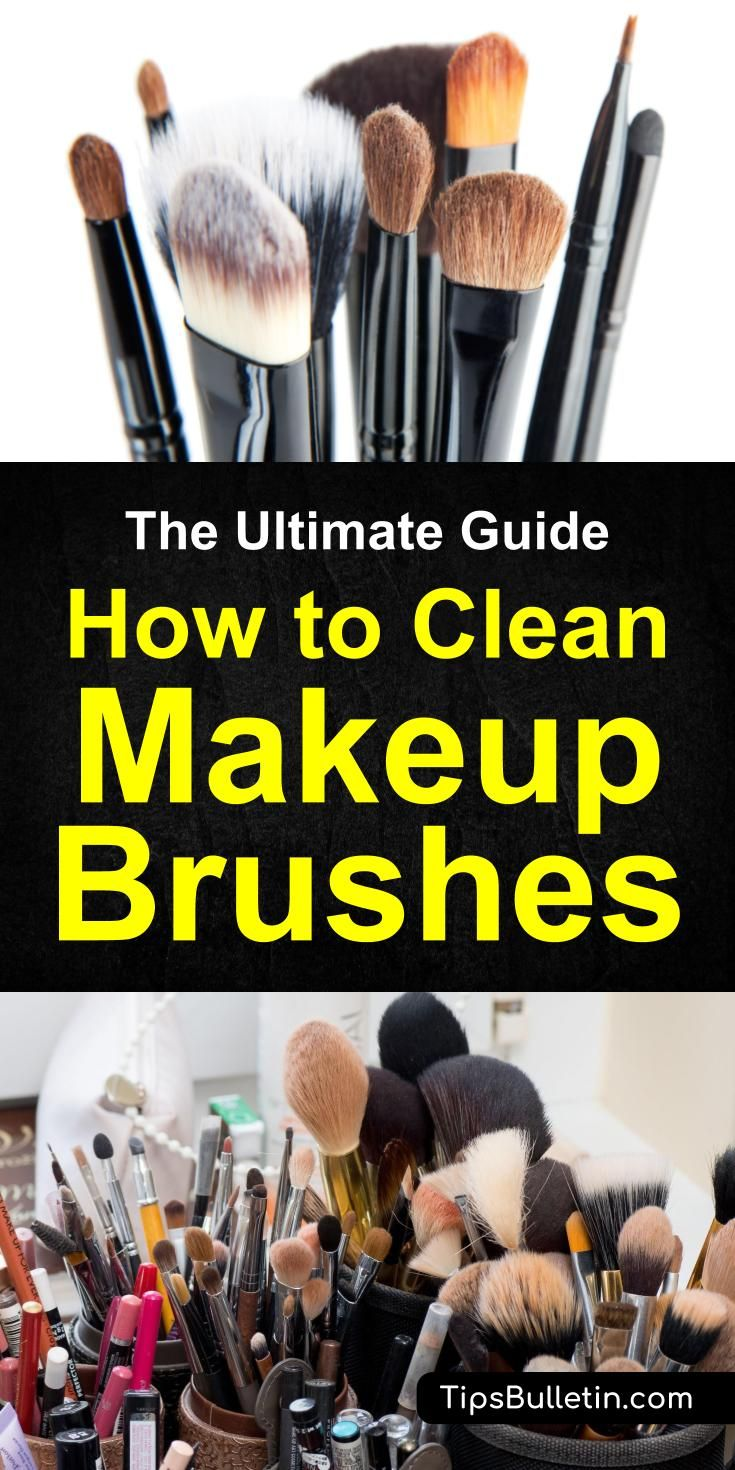 pics The complete guide to cleaning your make-up brushes (and what NOT to do)