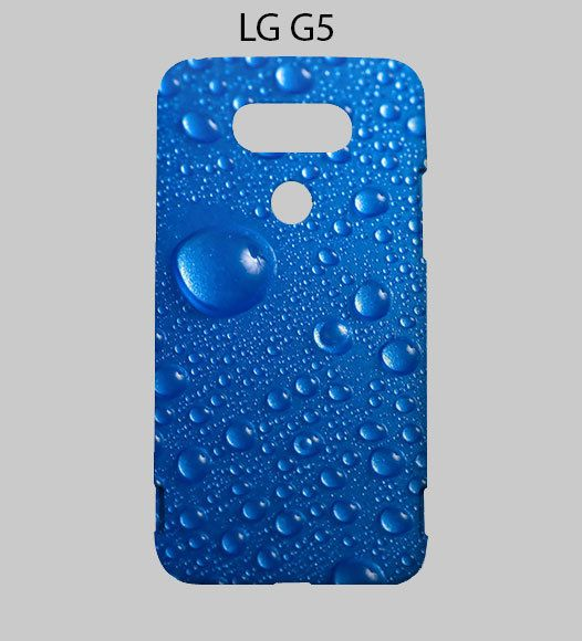 Water Drop Blue LG G5 Case Cover
