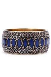 #Blue Eyes and #Brass #Bangle