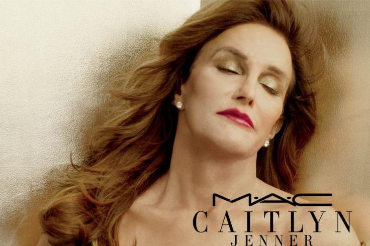 Caitley Jenner co su nueva linea de labiales junto a la marca Mac.(Fotos)