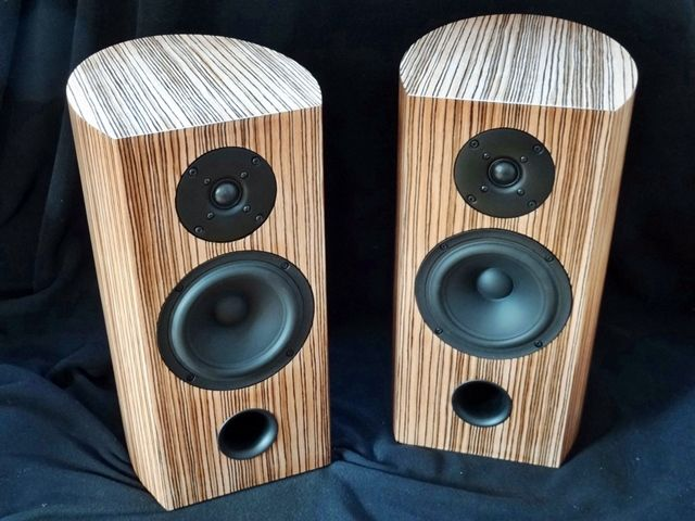 Stefans runde SB 18 - Lautsprecher selber bauen
