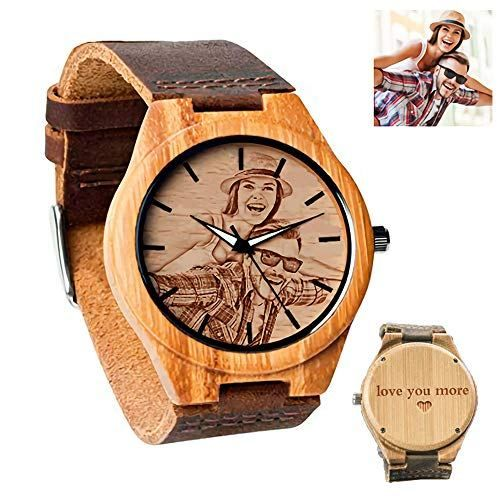 Personalized Customized Wooden Watch
