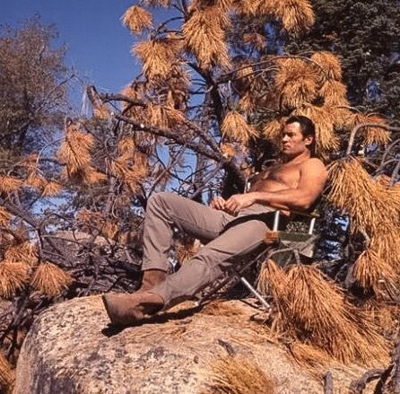 Clint Walker - In his prime, THE most gorgeous hunk of man I've ever laid eyes on!