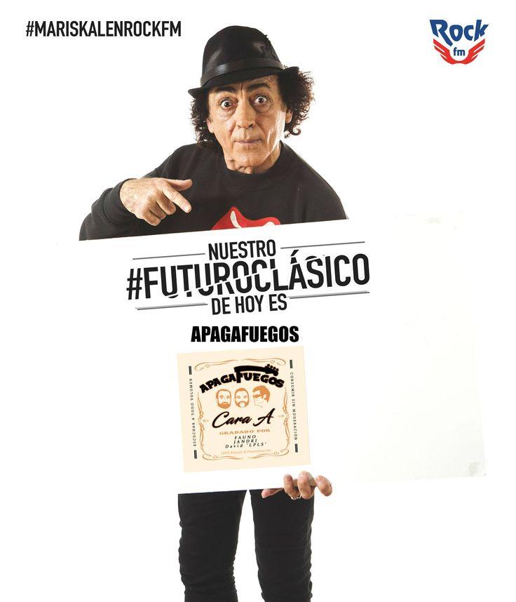 """Vicente Mariskal nos elegía  cómo """"futuro clásico"""" en su programa de Rock Fm. Pinchaba la canción ¡No jodas! #MariskalenRockFM #Apagafuegos #Fauno #NoJodas"""