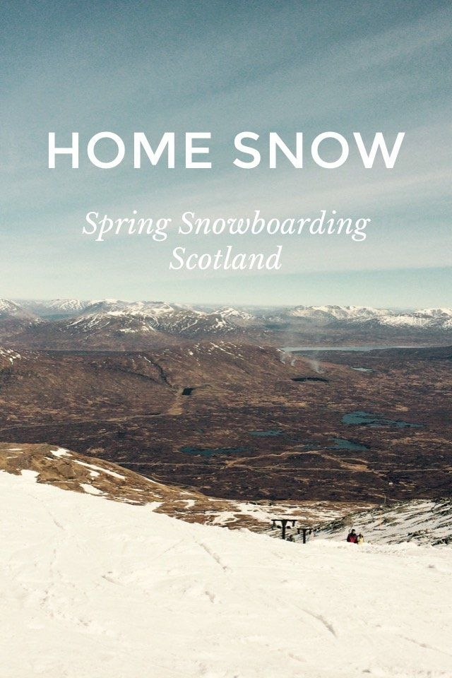 HOME SNOW Spring Snowboarding Scotland SNOW TIME Scottish ski resorts often get a bad rep but over the last few years, they've been stepping up their game. In 2014 Scotland had a higher snowfall than the Sochi Winter Olympics and much of the Alps. It's