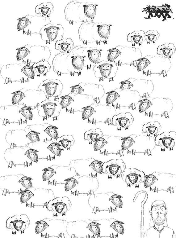 The Christmas Shepherd Maze Children S Bulletins