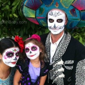 halloween day of the dead face paint - Halloween Day Of The Dead Face Paint