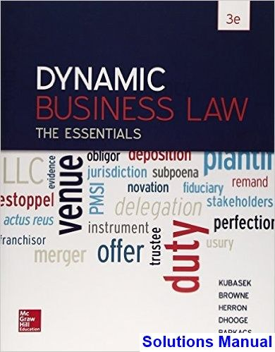 50 best solutions manual download images on pinterest dynamic business law the essentials 3rd edition kubasek solutions manual test bank solutions manual fandeluxe Image collections