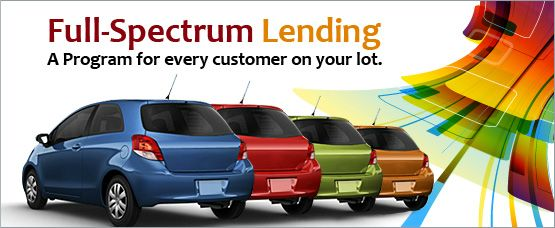 Looking for more information about our easy-to-use Buy Program™ or markets we serve? It's all here, whether you are an independent or franchise dealer looking for subprime lending.