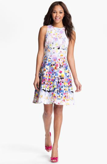 This is IT! Bought today! Maggy London Print Fit & Flare Dress | Nordstrom