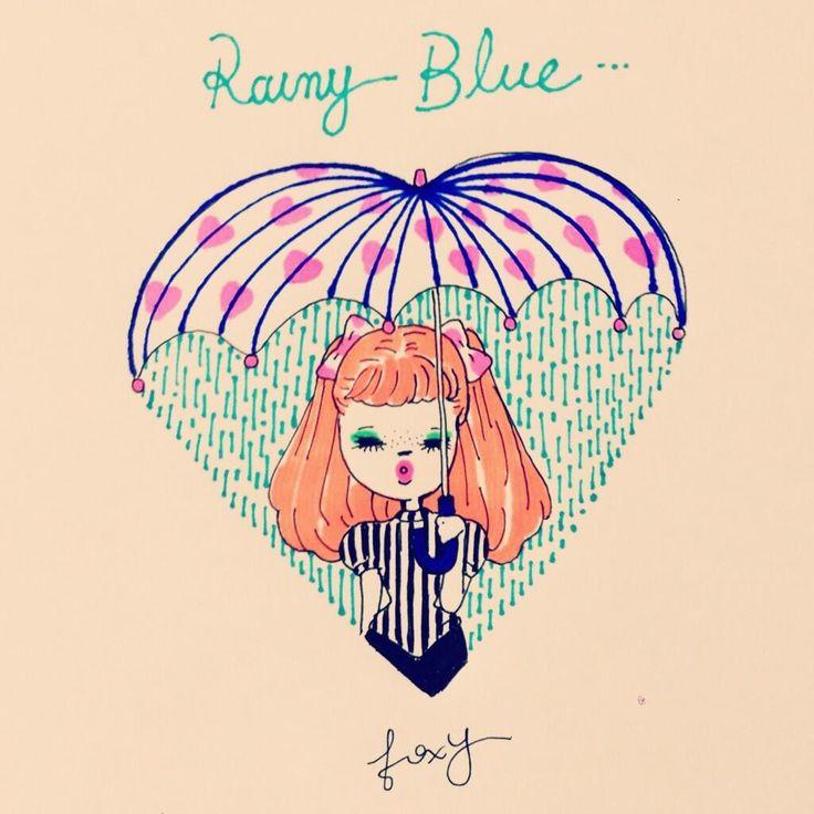 Twitter / ____FOXY____: Rainy Blue...☔ ...