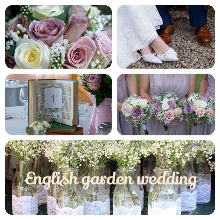 English vintage garden wedding