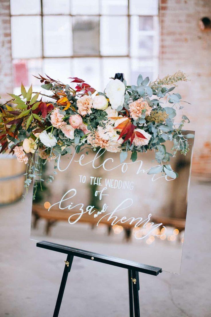 20 Chic Trendy Ideen Um Ihre Hochzeit Mit Blumen Zu Dekorieren