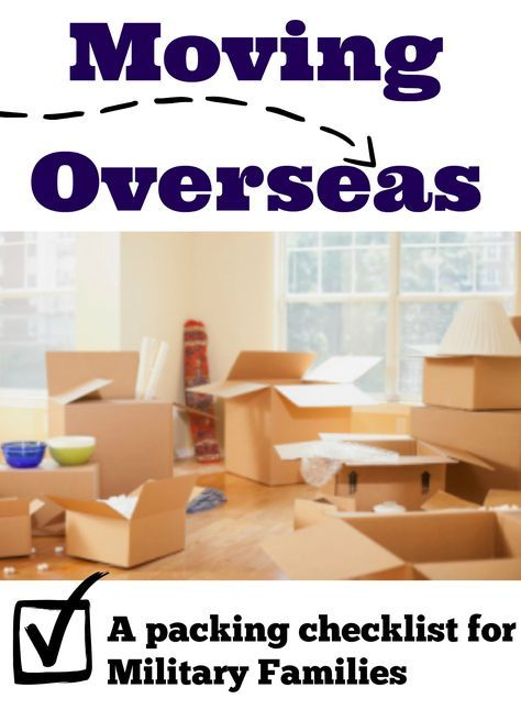 Do you have orders OCONUS? Deciding what to pack in your unaccompanied baggage when moving overseas can be overwhelming- this packing list will help!