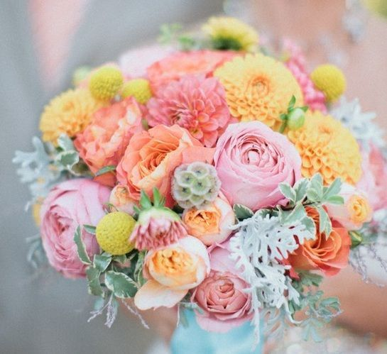 Beautiful, colourful, pastel, flowers !