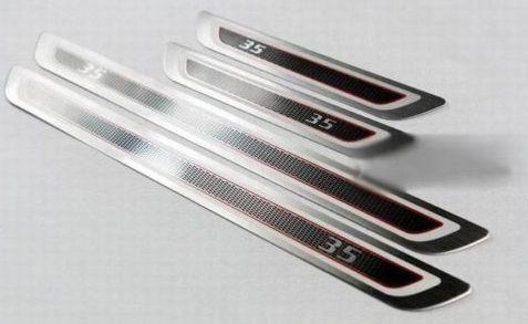 Door sill scuff plate For VW GOLF 6 MK6 GTI 5door 2009-2012 JETTA 6 2011 2012 #Affiliate