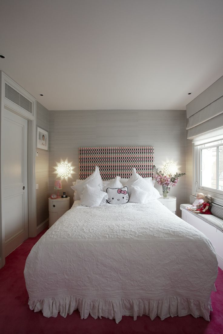 Childrens #Bedroom at Ebury Street Project www.tlastudio.co.uk
