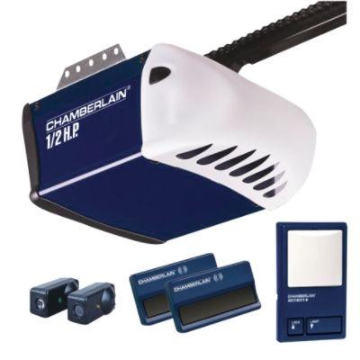 garage door opener chamberlin hd200 2 381lm and wall control