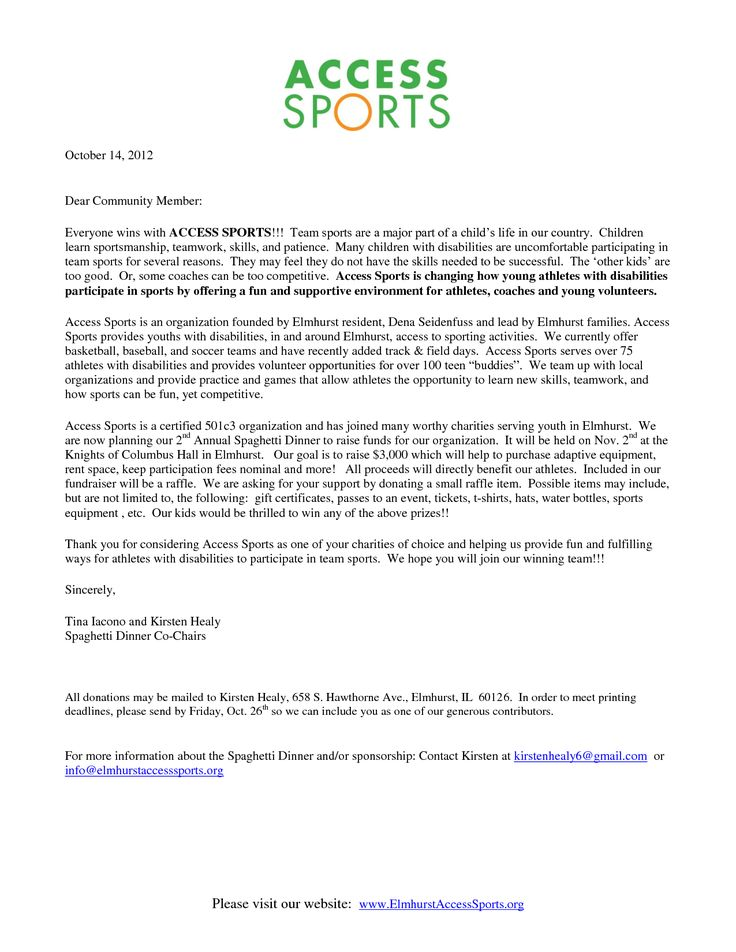 photos donation letter template for sports sample sponsor thank - donation thank you letter