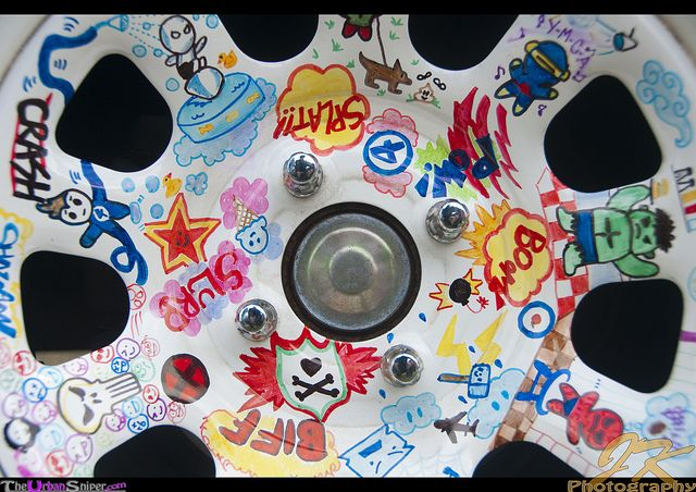 Rims-Drawing by Joey Newcombe, via Flickr