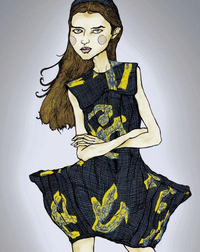 danny roberts art | Danny Roberts Fashion Illustrations | Trendland