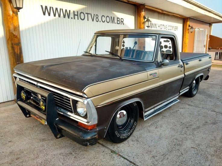 Hotv8 Vende Ford F1000 1984 Rat Rod - R$ 38.900,00
