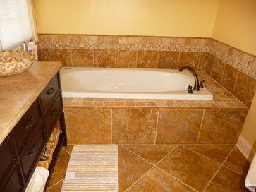 Picture Gallery For Website travertine bathroom Google Search