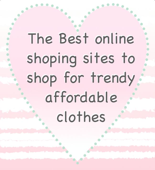 Most popular pinterest outfits for fashionista on a budget | Best online sites to shop for affordable clothes