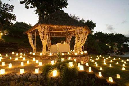 bora bora wedding venues | Tropical Destination Weddings » Four Seasons Resort Bali at Jimbaran ...