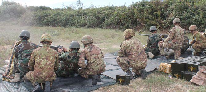 10 Valorosi Peshmerga  seguono il corso di addestramento militare alla Scuola di Fanteria di Cesano. http://www.italy.krg.org/18102014.html