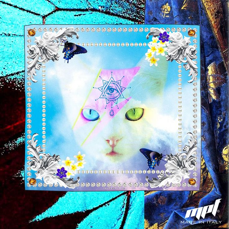 Cat Bowie Foulard MPF®; #MikePiedimonteFactory #madeinitaly #italy #gay #cat #DavidBowie #Foulard #FashionDesigner #fashion #moda #accessories #fashionblogger #MPFisMe #CRmagazine #Bag #sportswear #brand #love #tweegram #igers #amazing #style #swag #followme #webstagram #colorful #look #smile #pretty #all_shots #cute #design #model #glam #man #woman #model #collection #heels #party #pure #madonna #fashiontrends #coolhunter #silver #gold #ハンドメイドアクセサリー #指輪 #アクセサリー #womensfashion