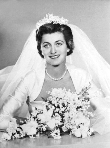 Jean Kennedy Smith's stunning wedding photo