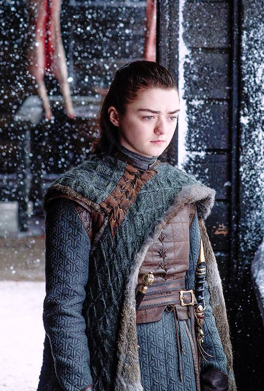 Arya Stark of Winterfell #GoT #ASoIaF