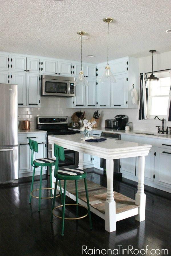 Modern Rustic Kitchen Island best 25+ vintage modern kitchens ideas on pinterest   base